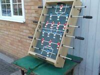 jaques table top family football game, good funn £19 buys