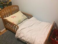 Toddler Bed (and mattress)