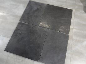 Black Limestone Heritage Flagstone Paving Tiles