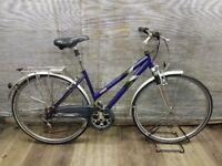 """Ladies hybrid/trekking bike RALEIGH PIONEER 160 Wheels 28"""" Frame 18"""" VGC!"""