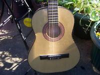 Eleca Acoustic Guitar 3/4 Size.