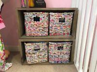 Loaf magazine storage cubes