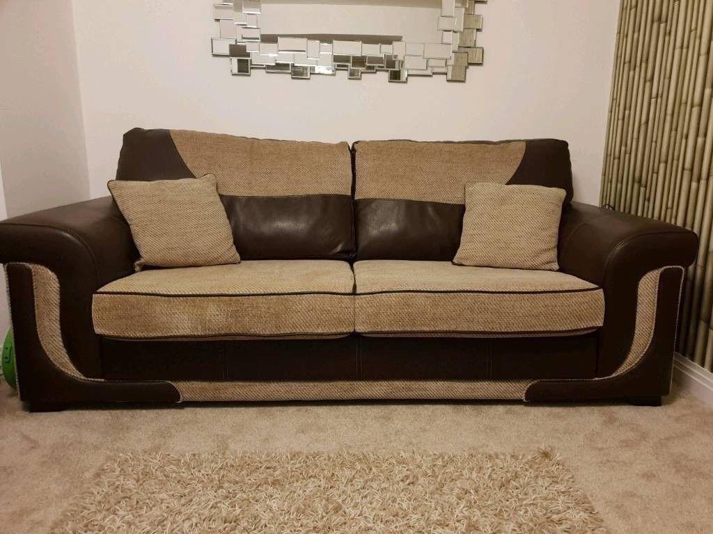 Worth 2000 3 Seater Premium Sofas With Foam