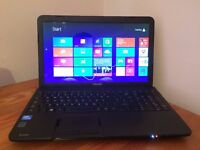 Toshiba Satellite c850|250Gb Storage|8Gb Ram|Windows 8.1 Pro