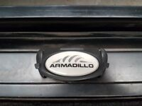 Armadillo rear sliding storage