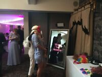 Magic Selfie Mirror to hire for Weddings, Parties & Corporate Events across North West