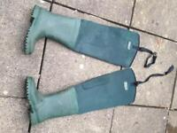 Fishing waders. size 8