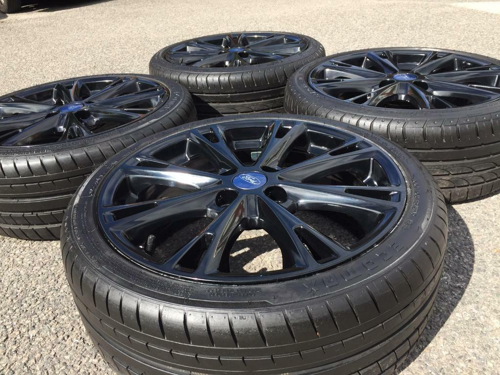 Genuine 17 Quot Ford Fiesta Zetec S Black Edition St Rs Alloy