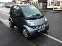 06 SMART CAR FOR TWO PURE SEMI AUTO 73,000 £1795