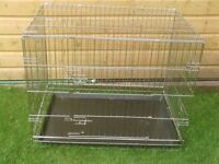 DOG CAGES SMALL £12 MEDIUM £20 LARGE £25