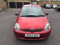 TOYOTA YARIS 1.0 VVTI COLOUR COLLECTION, 4 SERVICE, 89K WARRENTED MILEAGE.