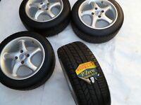 Brand new 195 50 15 Pirelli Tyres 15' 4x108 Escort RS Turbo 1600i