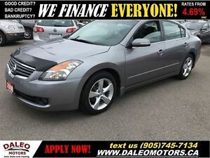 2008 Nissan Altima 3.5 SE 103KM V6 LEATHER SUNROOF