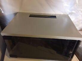 Network Server Data Cabinet Glass Door Lock & Key Server Cabinet wall mount data comms rack cabinet
