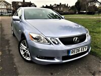 Lexus GS 450h 3.5 CVT 4dr FULLY LOADED, SAT NAV, CAMERA