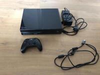Xbox One + controller + HDMI and Power cable