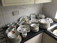"Royal Worcester ""Evesham "" collection pottery"