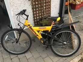 Bicycle MTB Cycle Bike Suspension Frame Good Working Order