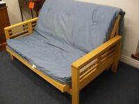 WOODEN FUTON - LOW PRICE DUE TO A FEW MARKS