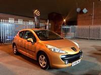 2006 Peugeot 207 1.4 Sport 3Dr Petrol Orange 44k Miles Clean Long Mot 1 Owner FSH