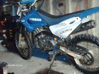 yamaha ttr 125 of road bike for sale.