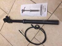 Brand new bike components (dropper post, crankset, bottom bracket, tires)