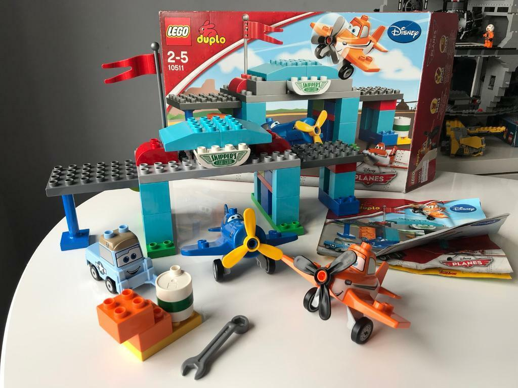 Lego Duplo Disney Planes 10511 Skippers Flight School Boxed With