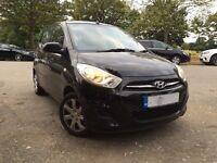 Hyundai i10---2011---Low 33000 Miles--Cheap on Fuel & Insurance--Shiny Black--Alternate4 Micra Yaris