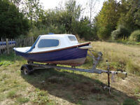 Fishing boat/ Launch/ 12' Dinghy with Cuddy
