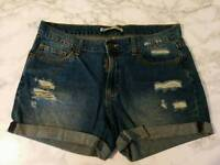 Denim shorts, size 30