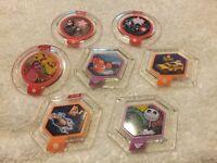 Disney infinity discs x7