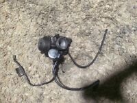 Piaggio 125 carburettor and air box with all hoses