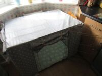 Puppy crate and cover