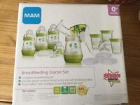 Breastfeeding starter set pump MAM baby