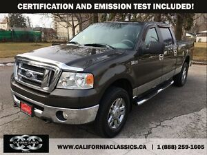 2007 Ford F-150 XLT SUPERCREW 4.6L - 4X4