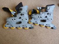 Argos Inline Skates Adjustable Size 2-5
