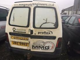 1999 Citroen berlingo, 1.9 diesel, breaking for parts only, all parts available