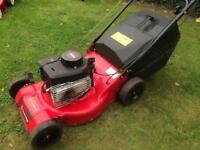 Petrol self drive lawnmower