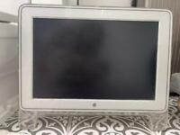 Retro Mac computer screen