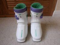 Child's Salomon Ski Boots SX12 Mini