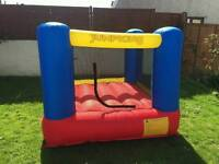 Jump king bouncy castle with blower