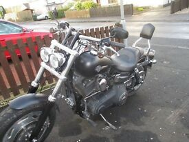 Harley Davidson fat bob 2010 Excellent example complete with Stage 1 12 months mot