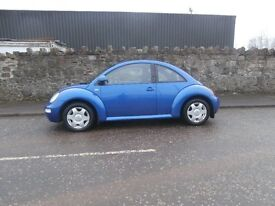 2001 VOLKSWAGEN BEETLE 1.6 - MOT OCT 17- GREAT DRIVER !!