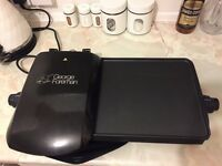 George Foreman Ten portion Grill and Griddle used - Black (£29.99)