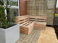garden corner piece furniture