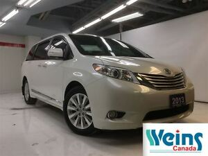 2013 Toyota Sienna LIMITED AWD , 1 OWNER , LEASE RETURN