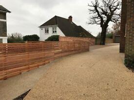 Soft Wood Decking/Hard Wood Decking/Composite Decking/Roof Terrace Decking/Cedar Slatted Fence
