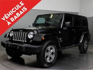 2016 Jeep WRANGLER UNLIMITED SAHARA 4X4 A\C MAGS NAVIGATION A VE