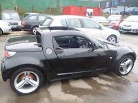 Smart ROADSTER Brabus Auto,(RHD),698 cc Convertible,Heated seats,Alloy wheels,No advisories