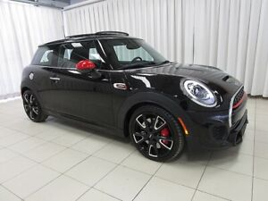2017 Mini Cooper JCW 230hp TURBO 6 SPEED w/ HEATED SEATS, DUAL M